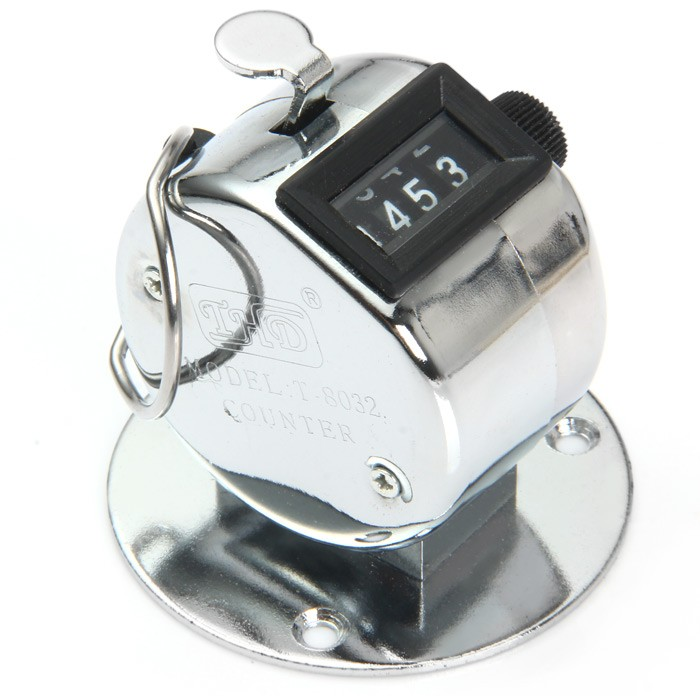 Handheld/Base Mount Tally Counter Clicker