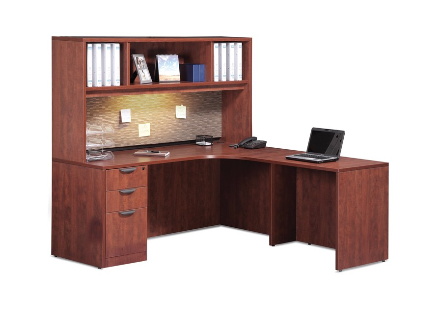 L Shaped Desk With Hutch Office Pro S