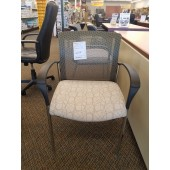 Patterned Mesh Chair