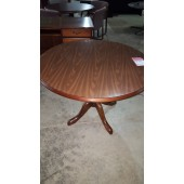 "42"" Round Conference Table, Laminate Mahogany"