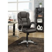Office Executive Task Chair with Lumbar Support Brown