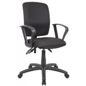 Boss Task Chair with Loop Arms B3037
