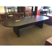 Espresso Laminate 10' Conference Table