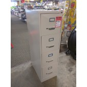 Putty 4-Drawer Vertical Filing Cabinet- DENT SPECIAL!