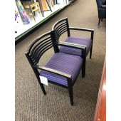 Purple Patterned Chairs