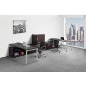 Elements PLT26 Contemporary Laminate 2 Person Suite with Storage