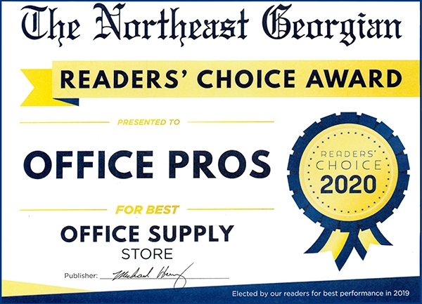 NE Georgian 2020 Readers Choice Award