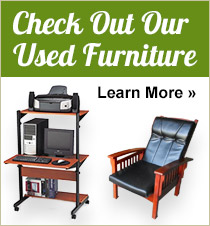 We Offer Used Furniture