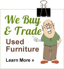 we buy used furniture